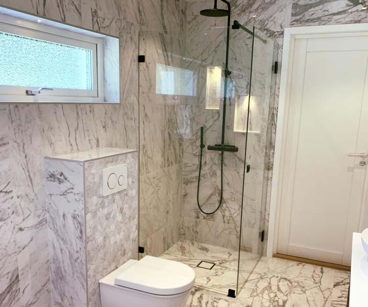 Renovera badrum, badrumsrenovering snickare uppsala